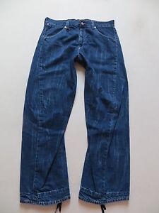Levi-039-s-049-engineered-Jeans-Hose-W-34-L-34-DIE-034-Verdrehte-034-Weit-amp-Bequem
