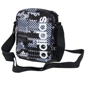 0f11a63fc9 Image is loading Adidas-Linear-Performance-Organizer-Bag-BR5106-Messenger- Shoulder-