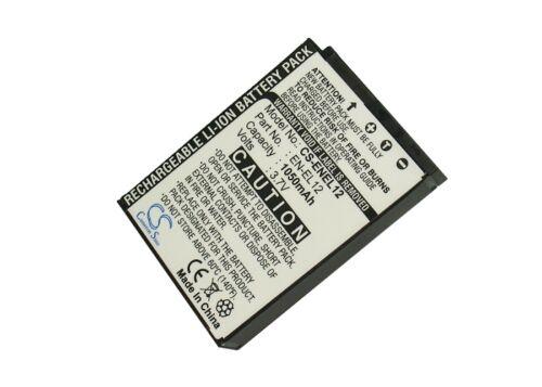 Batería Li-ion Para Nikon En-el12 Coolpix S9200 Coolpix S610 Coolpix S9100 Nuevo