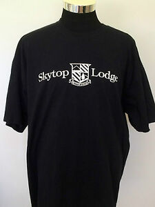 Skytop-Lodge-Men-039-s-Tee-T-Shirt-Black-2XL-Turtlehead-Classic-2011