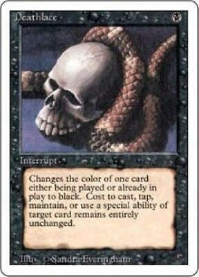 2x Deathlace PL MTG Revised 3rd Magic
