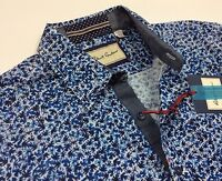Robert Graham Men Vintage Geometric Patterned Tailored-Fit Sport Shirts