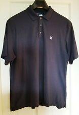 Chaps Performance Stay Dry Khaki Long Sleeve Polo Shirt Mens NWT