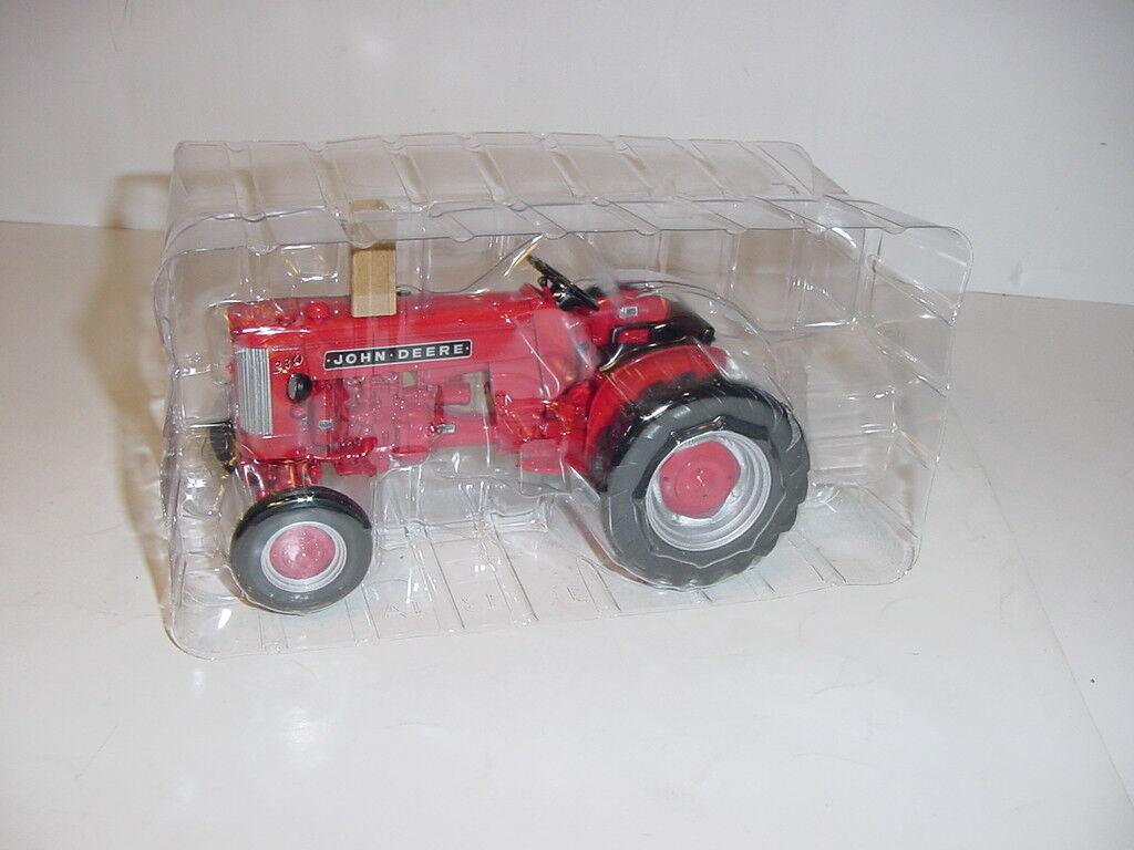 1/16 John Deere 330 Rojo Industrial Tractor NIB 2018 - 2 Cylinder Club