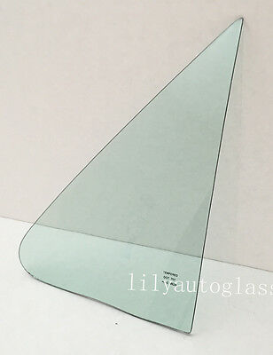 NAGD Compatible with 2007-2011 Toyota Camry 4 Door Sedan Driver Left Side Rear Vent Glass Window