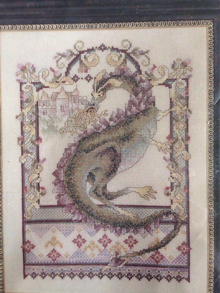 1 Dragon Counted Cross Stitch Kit
