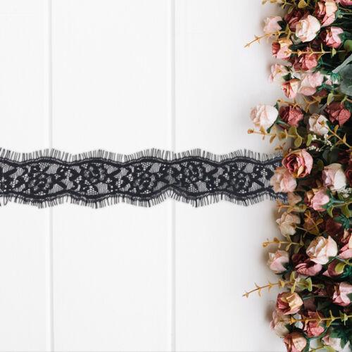 "1.5/"" Large Style vintage coton dentelle mariage ruban Applique Sewing Crafts"