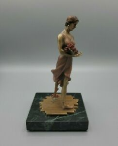 """Chilmark The Ballet """"Nadia"""" Fine Pewter 1989  Limited Edition 56/2500 USA Pink"""
