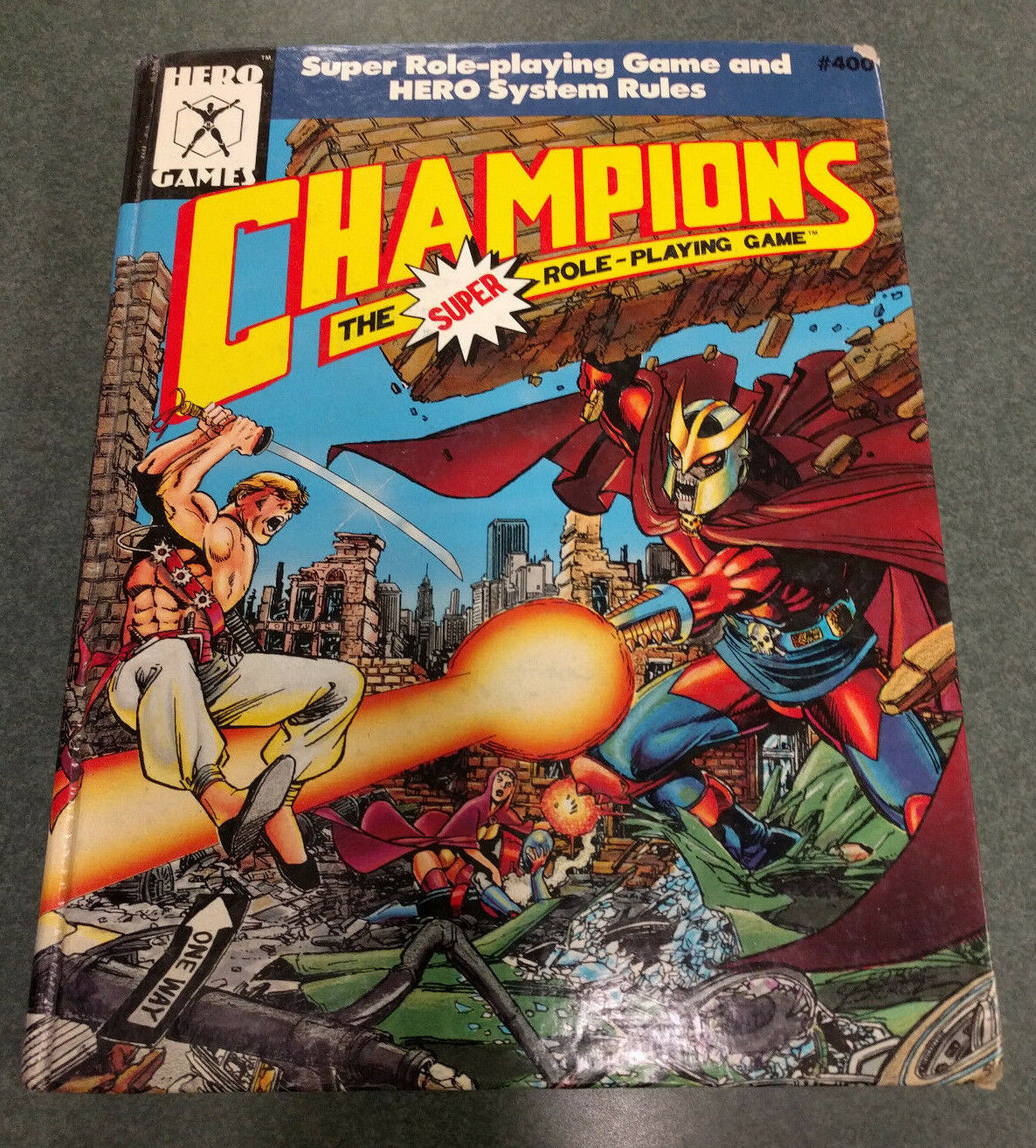 Champions The Super Role Playing Game     Hardcover Hero Games