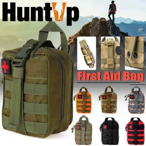 Tactical Molle EMT IFAK Medical Pouch First Aid Kit Outdoor Survival Utility Bag