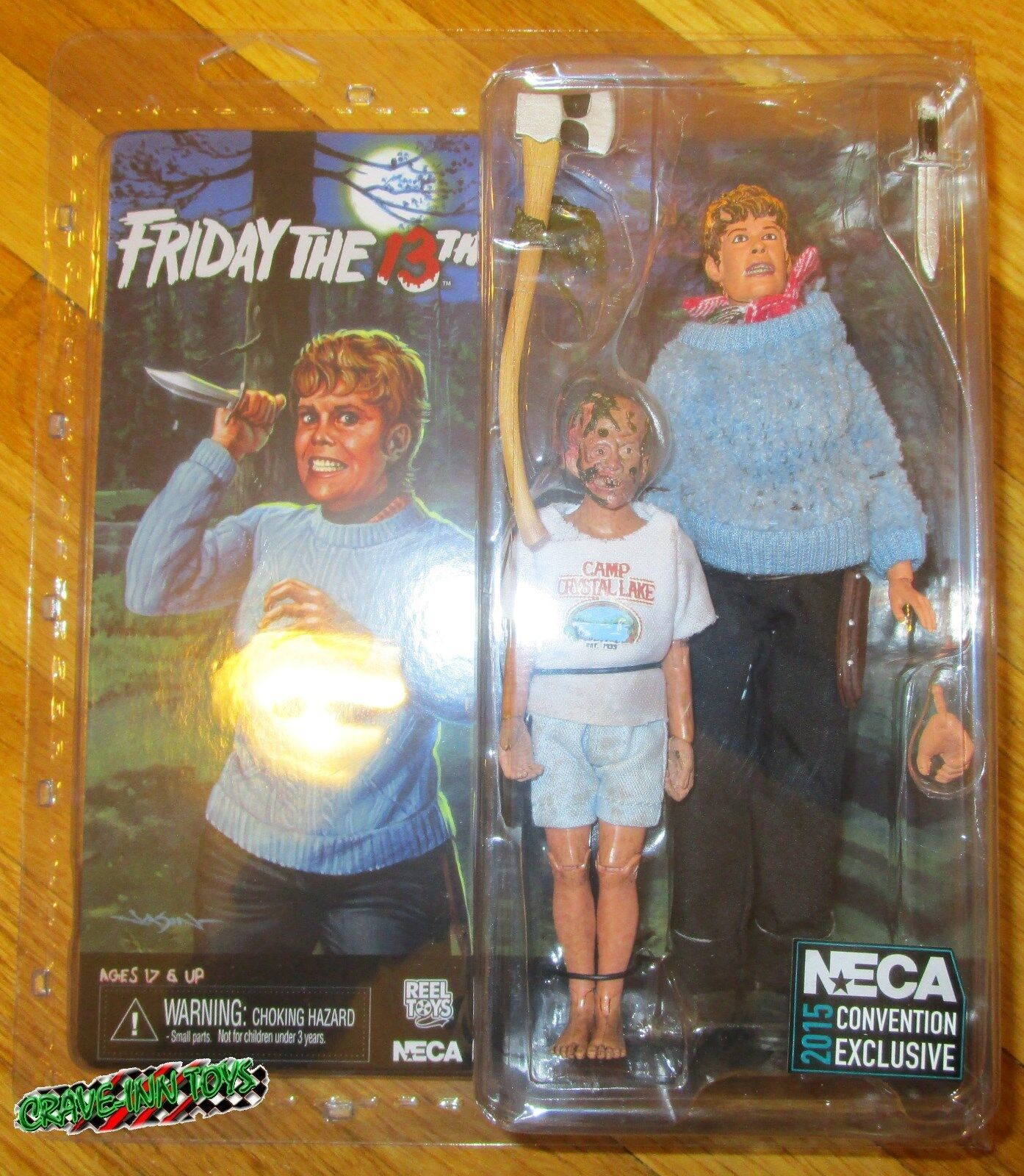suministro directo de los fabricantes Sdcc 2018 Neca Friday Friday Friday The 13th Pamela Voorhees jóvenes Jason 35th Anniv Figura Set  deportes calientes
