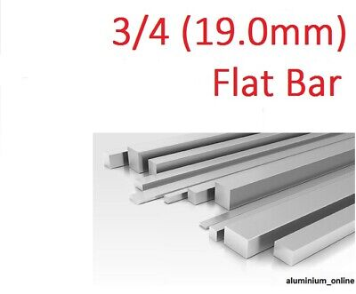 "3.1//2/"" ALUMINIUM FLAT BAR STRIP 3/"" 4/"" inch select size /& length on listing"