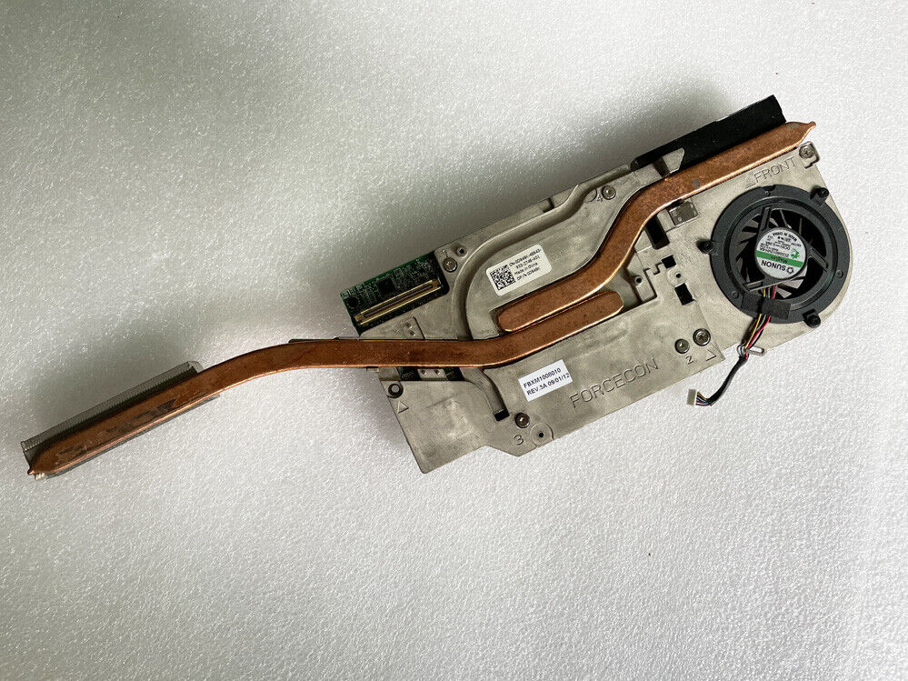 Dell Precision M6400 M6500 Laptop NVIDIA FX 3700M 1Gb Video Card + Heatsink Fan