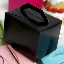 100 Black Tote Unique FAVORS Boxes Ideas for Cute Wedding Decorations