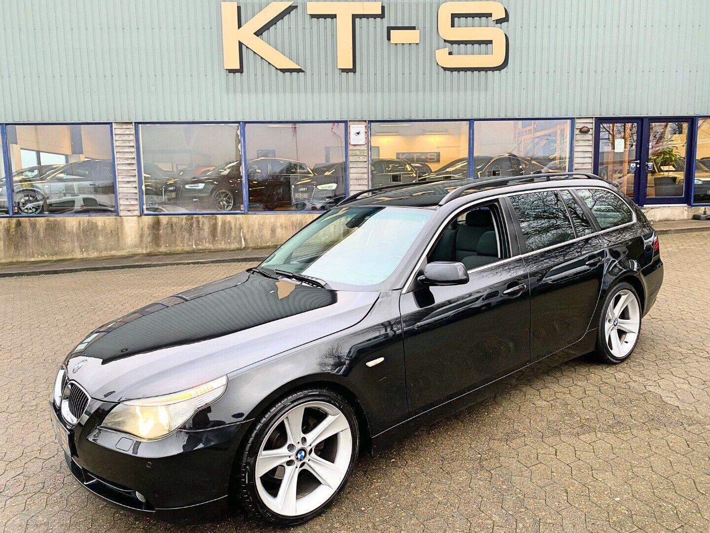 BMW 525d 2,5 Touring Steptr. 5d - 119.000 kr.