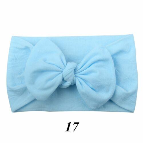 Newborn Toddler Nylon Hairband Baby Elastic Headband  Headwear Girl Turban