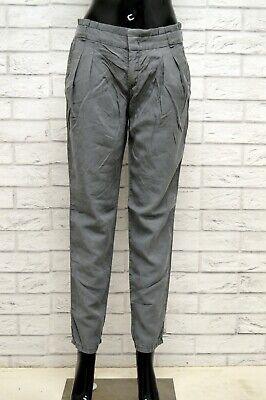 Iniziativa Pantalone Donna Trussardi Taglia 27 Jeans Pants Woman Cotone Slim Fit Grigio Distintivo Per Le Sue Proprietà Tradizionali