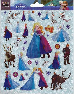 Fiducioso Stickers Frozen Reine Neiges Pour Decorer Ordinateurs Portables Consoles Agendas Fresco In Estate E Caldo In Inverno