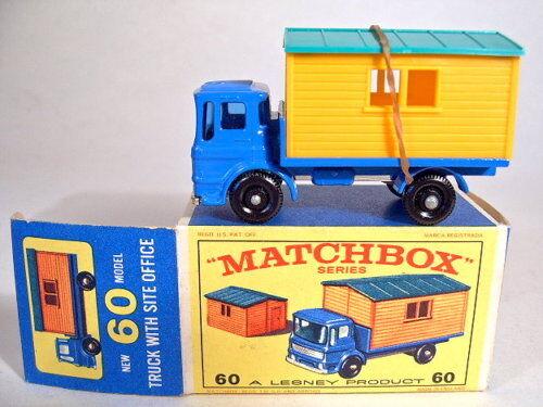 Matchbox RW 60b sitio sombreros Truck como nuevo en Box