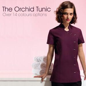 Perfect beauty salon uniform in 14 colours tunics for for Uniform nail spa