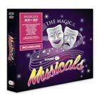 Various Artists The Magic of The Musicals 2cd DVD CD