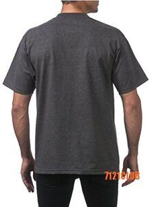 9f85bf55 LOT 12 PACK PRO CLUB T SHIRTS PROCLUB MEN'S PLAIN HEAVYWEIGHT SHORT SLEEVE  S-7XL Shirts ...