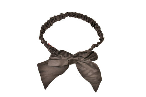 Size Black Provocateur Soft Agent Os Garter Womens Silk Ribbon SBzg1