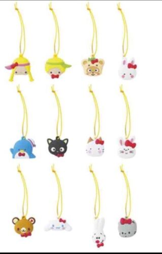 Sanrio Hello Kitty 12pc Orange Trinkets 50th Anniversary Tuxedosam Chococat