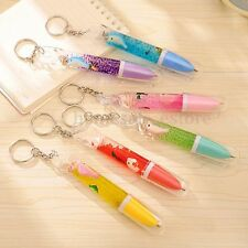 Random Conch Stylus Ballpoint Pen Cute Creative Stationery Student Key Ring HOT