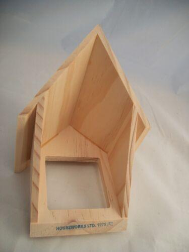 Gable Dormer #7002 dollhouse miniature 1pc wooden Houseworks 1//12 scale