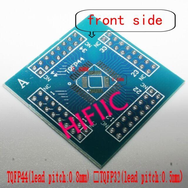 1PCS A Type TQFP32 TQFP44 TQFP-44 TQFP64 Adapter PCB SMD Convert DIP Prototyping