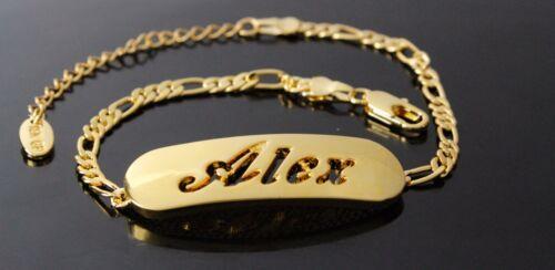 Alex Nom Collier /& Bracelet 18k Or Plaqué Bijoux Set Cadeaux de Noël