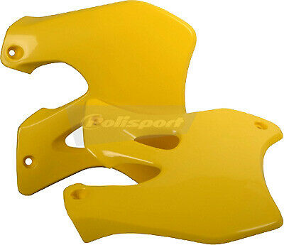 Polisport 8412000001 Radiator Shroud Yellow