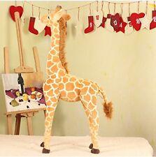96CM Big Plush Giraffe Toy Doll Giant Large Stuffed Animals Soft Doll Gift./1pcs