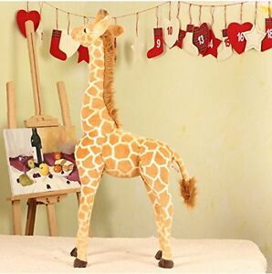 1Pcs-96CM-Big-Plush-Giraffe-Toy-Doll-Giant-Large-Stuffed-Animals-Soft-Doll-Gifts