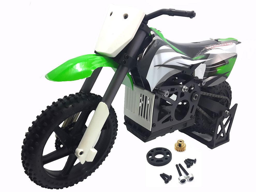 MX400-MC BURSTOUT MOTO SENZA ELETTRONICA 1:4 MECCANICA COMPLETA HIMOTO