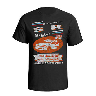 Kids Car T-Shirt I don`t snore I dream I`m a SR Vauxhall Nova Retro Classic