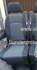 Zusatzsitz für 2er Sitzbank Viano Vito W639 Stoff Lima mit Armlehne  viano-sitze