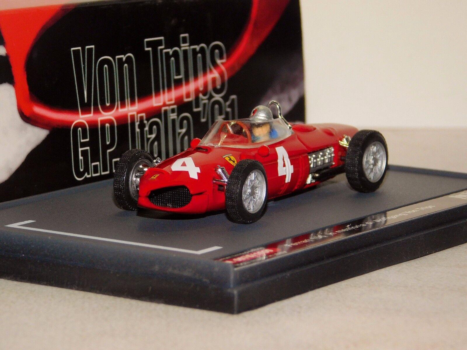FERRARI 156 VON TRIPS MONZA ITALIA GP 1961 IN MEMORIA BRUMM LIM. S11 03 1 43