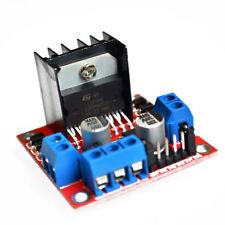 Dual H Bridge Stepper Motor Drive m/ódulo de la Placa del Controlador para Arduino L298N Motor Driver Board Module