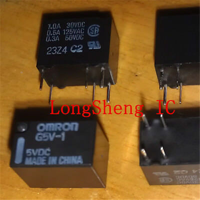 5Pcs NEW 5V G5V-1-5VDC Signal Relay 6 PINs for Omron Relay