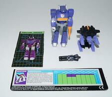 Shockwave Action Master ~ 100% Complete 1990 G1 Transformers Figure W TECH