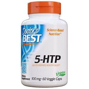 Doctor's Best 5-Htp, Non-GMO, Vegan, Gluten Free, Soy Free, 100 Mg, 60 Veggie...