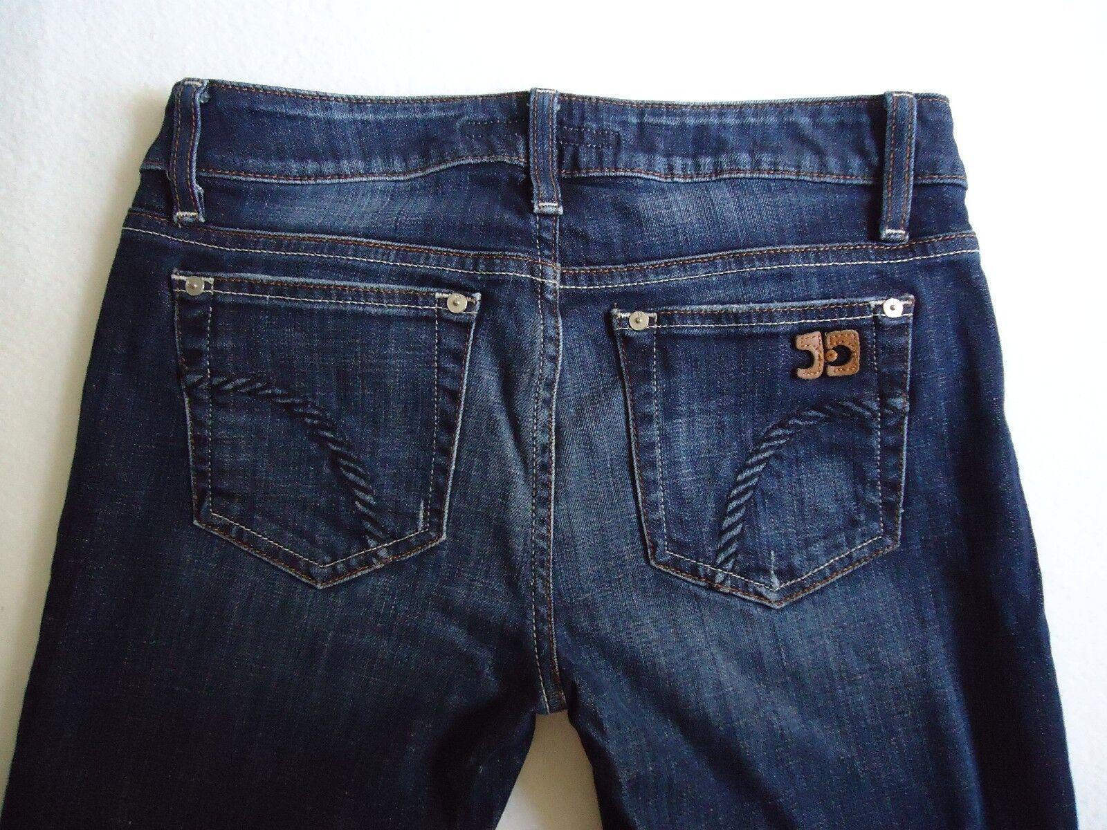 Joe's Jeans 27 x 29.5 The Honey Bootcut Ryder Wash Low Rise Denim bluee Jean