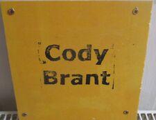 "Cody Brant - untitled  8"" Lathe Cut, lim. 30 , LAFMS , Experimental"