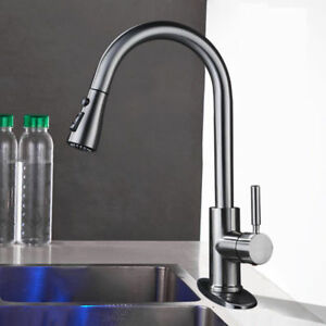 best commercial stainless steel sprayer kitchen faucet pull out rh ebay com