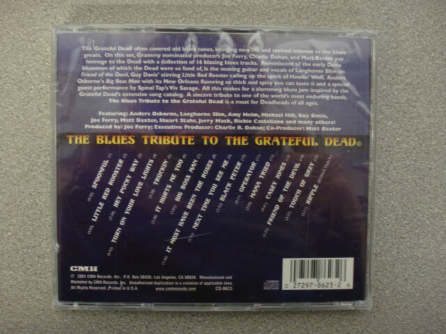 The Blues Tribute to the Grateful Dead by Various Artists (CD, Aug-2001,  CMH Records)
