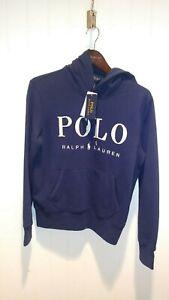 Polo-Ralph-Lauren-Womens-Pullover-Hoodie-Sweatshirt-Fleece-Pony-Logo