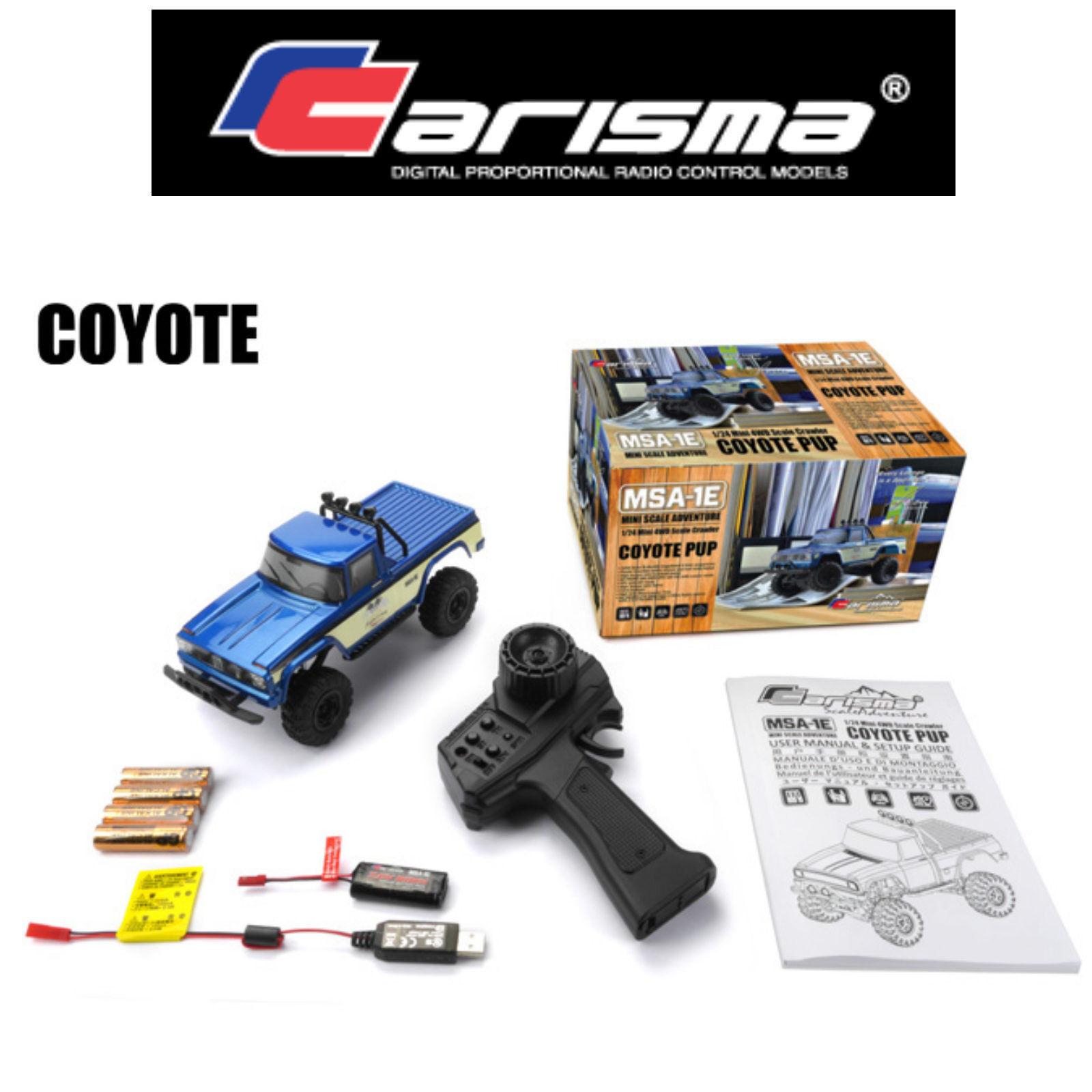 Carisma MSA-1E Coyote Pup 1 24. 4WD Rtr CA-79368