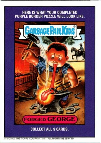 2003 TOPPS GARBAGE PAIL KIDS All New Series 1 CHOOSE YOUR CARDS PICK